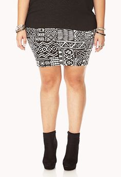 Adventurer Bodycon Skirt | FOREVER21 PLUS - 2031558058