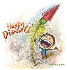 Diwali greeting on Behance