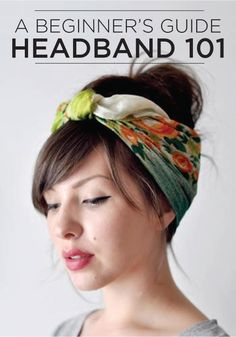 4 very modern ways to wear this season's hottest hair accessory!