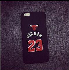 "Legendary Chicabo Bulls Michael Jordan Flightman Jumpman 23 Jersey emblem Apple iPhone 5 5s 5SE 6 4.7"" 6 plus 5.5"" Jumpman Sports Phone Cases"