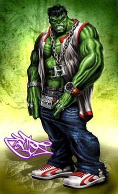 #Hulk #Fan #Art. (Thug Hulk) By: Christian Cortes. (THE * 5 * STÅR * ÅWARD * OF: * AW YEAH, IT'S MAJOR ÅWESOMENESS!!!™)[THANK Ü 4 PINNING!!!<·><]<©>ÅÅÅ+(OB4E)