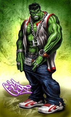 #Hulk #Fan #Art. (Thug Hulk) By: Christian Cortes. (THE * 5 * STÅR * ÅWARD * OF: * AW YEAH, IT'S MAJOR ÅWESOMENESS!!!™)[THANK Ü 4 PINNING!!!<·><]<©>ÅÅÅ+(OB4E)