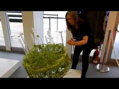 Video - RHS Chelsea Flower Show 2015 Limelight Floral Art Design