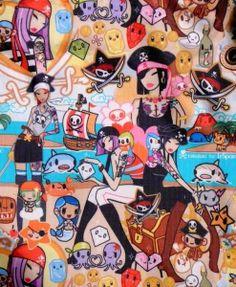 tokidoki collage