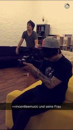Julien Bam mit Vincent Lee Snapchat