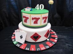 40th Birthday Cake Ideas and Recipes for Men - http://www.enjoythemeparks.com/40th-birthday-cake-ideas/ : #BirthdayCakes 40th Birthday Cake Ideas usually have a simple design because 40 years old is not a young age anymore. Especially the birthday cake for men, it would be very simple then. Sometimes, when we want to make our own birthday cakes for our lovely men (or maybe our father), we need to look for the best ...