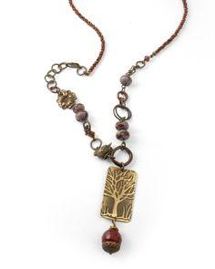 Vintaj Inspired Necklace