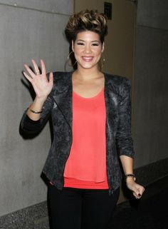 Tessanne Chin - Tessanne Chin Stops by the 'Today' Show