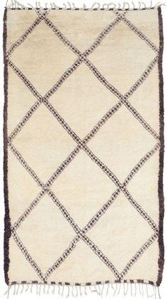 Moroccan Beni Ourain rug http://www.etsy.com/shop/bringyourownsunshine