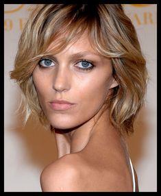 Anja rubik hairstyle short with bang