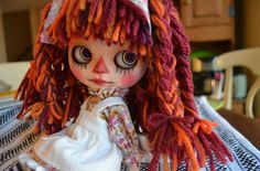 """Maggy Muffin"" Custom OOAK Blythe Doll by Pariszhenpink 