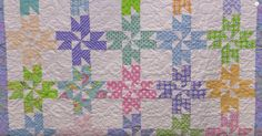 An Old Block Done In A New Way Brings Us This Surprise Pinwheels Quilt