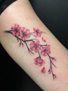 Small japanese tattoo, japanese flower tattoo, dogwood tattoo, orchid t Mini Tattoos, Body Art Tattoos, Small Tattoos, Cool Tattoos, Tatoos, Tree Tattoos, Arabic Tattoos, Dragon Tattoos, Awesome Tattoos