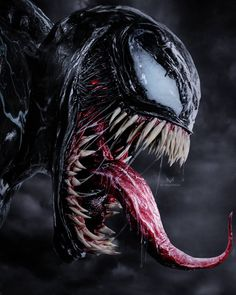 "You are watching the movie Venom on Putlocker HD. When Eddie Brock acquires the powers of a symbiote, he will have to release his alter-ego ""Venom"" to save his life. Marvel Dc, Marvel Venom, Marvel Heroes, Venom Spiderman, Deadpool Wolverine, Thor Superhero, Marvel News, Venom Comics, Deadpool Wallpaper"