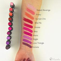 Získajte dokonale matné a zvodné pery vďaka matnému rúžu Matte Flat Velvet Lipstick od americkej značky L.A.Girl <3