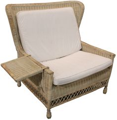 Wing Sofa with Cushions - Interiors Online $899 Footstool also available