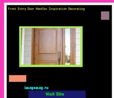 Front Entry Door Handles Inspiration Decorating 164125 - The Best Image Search