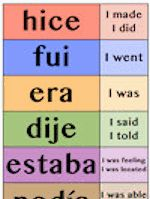 High-frequency verbs poster, brycehedstrom.com