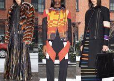 Givenchy  - Pre A/W 2104/15-Sequin Photographic Prints – African Inspired – Mosaic Pattern – Geometric Colour Blocks – Bold Colour Flashes – Graphic Stripes