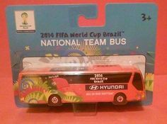 "PORTUGAL SOCCER NATIONAL TEAM BUS HYUNDAI MAISTO FIFA WORLD CUP BRAZIL 2014 5"""