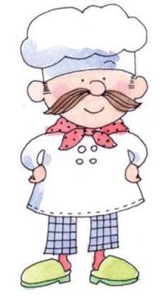 Cocineros en dibujos para imprimir , divertidos dibujos de cocineros para imprimir para tus manualidades. qué cocinero te gusta más??? Te p...