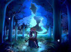 Under the Stars - Hetalia - America / England   ^..^