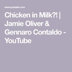It might sound unusual, but Jamie's method of cooking a whole chicken will blow you away. The milk creates lovely cu. Easy Delicious Recipes, Great Recipes, Yummy Food, Gennaro Contaldo, Stuffed Whole Chicken, Jamie Oliver, Celebration Cakes, Fried Chicken, Family Meals