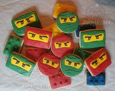 Atelier Zuckersüss: Lego Ninjago cookies