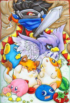 Kirbys Dreamland 2 Commission by AgentHisui