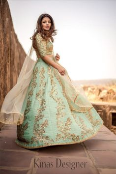 --->Kinas Designer is your one-stop shop for all types of Bridal Wear Collection. --->For more information contact us (Call/Whatsapp): +91 78028 85280 #lehenga #bridallehenga #weddinglenega #designerlehenga #lehengacholi #indianwedding #indianfashion #indianbride #weddingdress #bridalwear #bridal #indianwear#anarkalilehenga #bride #instafashion #style #traditionallehenga#india #sabyasanchi #manishmalhotra #handworklehenga Green Lehenga, Indian Lehenga, Silk Lehenga, Anarkali, Silk Dupatta, Party Wear Lehenga, Party Wear Dresses, Bridal Lehenga, Wedding Dresses