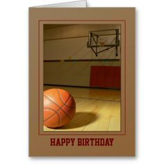 Basketball- Birthday Thank You Any Use Greeting Card online after you search a lot for where to buyHow to Basketball- Birthday Thank You Any Use Greeting Card Here a great deal. Birthday Thank You, Birthday Cards, Happy Birthday, Birthday Ideas, Basketball Birthday, Sports Birthday, Thank You Greeting Cards, Custom Greeting Cards, Thoughtful Gifts