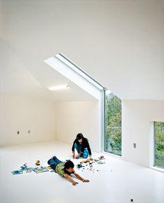 roof-wall window