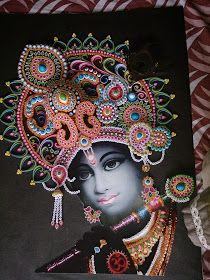 Love for Quilling: Quilled Krishna
