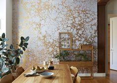 Calico Wallpaper, courtesy of Calico Wallpaper. Photo by Stephen K. Johnson.