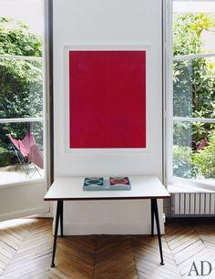 Laurence and Patrick Seguin's Paris Apartment Photos | Architectural Digest
