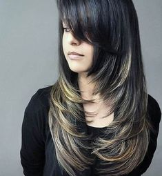 44 Trendy Long Layered Hairstyles 2019 (Best Haircut For Women) - - Long layered hair looks amazing and is an incredibly versatile cut yet it's very simple to maintain. Check our which style suits you the most! Long Layered Haircuts, Cool Haircuts, Hairstyles Haircuts, Layered Hairstyles, Latest Hairstyles, Wedding Hairstyles, Short Haircuts, Women Haircuts Long, Beautiful Haircuts
