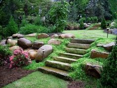 Beautiful garden design and landscaping ideas help transform yards and lawns in something that is very pleasant and attractive #LandscapingandOutdoorSpaces