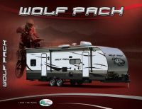 Wolf Pack Toy Hauler Travel Trailers by Forest River