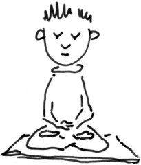 New to Buddhism? Wish that you could learn how to meditate? Try these easy 'First steps into Buddhist meditation' Buddhist Meditation Techniques, Yoga Meditation, Meditation Buddhism, Zen Master, Learn To Meditate, Thich Nhat Hanh, Spiritual Inspiration, First Step, Buddha