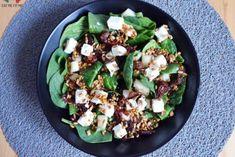 Przepyszna sałatka ze szpinakiem, fetą, suszonymi pomidorami i gruszką! – Eat Me Fit Me! :) New Recipes, Cooking Recipes, Sprout Recipes, Vegetable Salad, Tortellini, Chicken Salad, Diy Food, Cobb Salad, Good Food