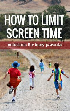 3939e2757379 Easy ways to limit screen time. 4 solutions that work. Rules For Kids