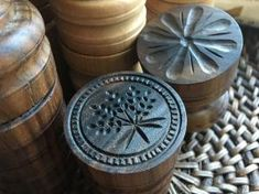 Handcrafted Corzetti Stamp - Solid Walnut