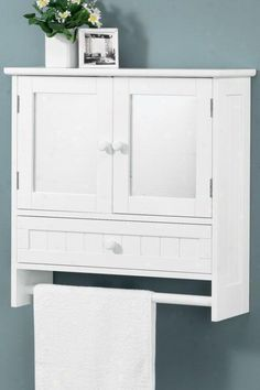 Ksp Townsend Bathroom Wall Cabinet 63 X 22 X 67 Cm White | Kitchen ...
