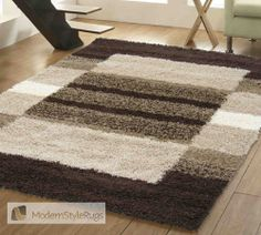 Mont Blanc Mb08 Chocolate - Modern Style Rugs