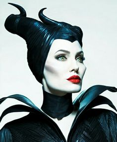 Malificent.  Is Angelina Jolie beautiful or what?