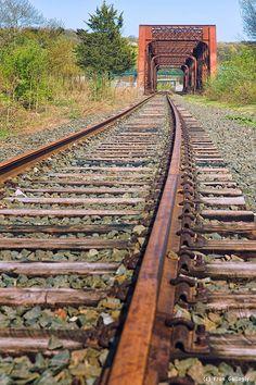 Shelton railroad bridge