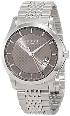 Gucci Men's YA126412 Gucci Timeless Brown Diamond Pattern Dial Watch Gucci http://www.amazon.com/dp/B008B0KFQ0/ref=cm_sw_r_pi_dp_hVF7tb0QP6TZH