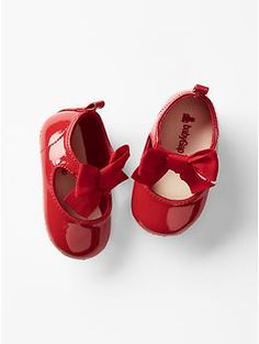 Bow mary jane flats | Gap