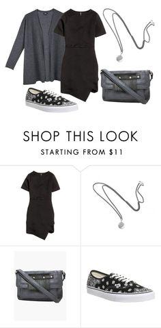 """Minimaliste Spring"" by blackpoppy45 on Polyvore featuring mode, H&M, Vans, women's clothing, women's fashion, women, female, woman, misses et juniors"