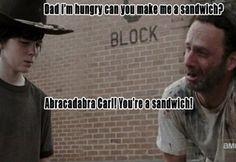 Rick Grimes Makes 18  Terrible Dad Jokes